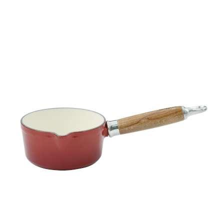 Milkpan 14cm 0.75L Red