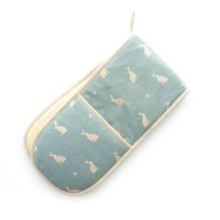 Dexam Stargazing Hare Blue Double Oven Glove