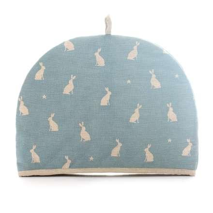 Dexam Stargazing Hares Tea Cosy - 2 Cup Blue