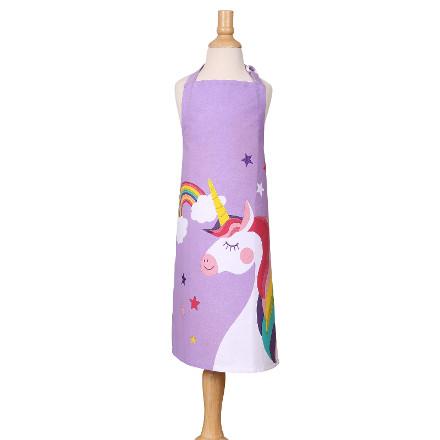 Dexam Children's Apron - Unicorn, Lilac
