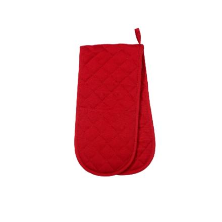 Dexam Love Colour Double Oven Glove - Scarlet