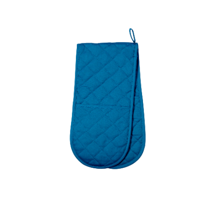 Dexam Love Colour Double Oven Glove - Blue