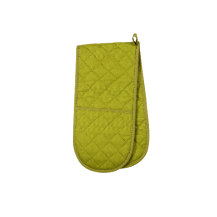 Dexam Love Colour Double Oven Glove - Greenery