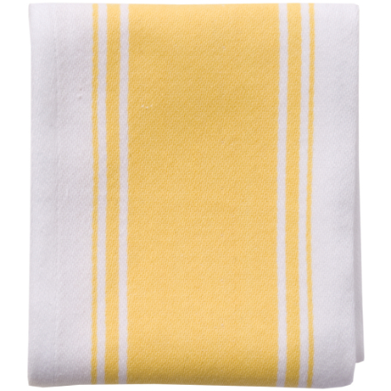 Dexam Love Colour Striped Tea Towel - Sunflower