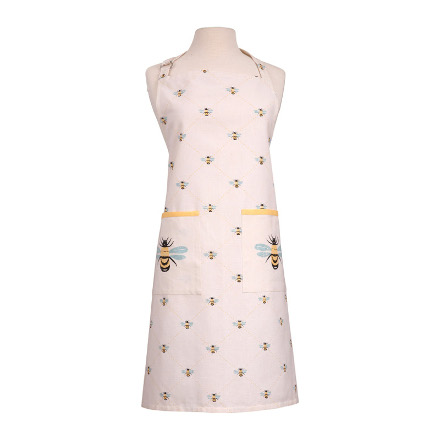 Bees Knees Adult Apron Yellow