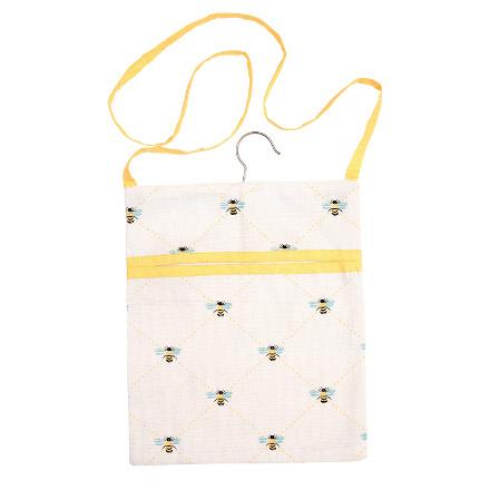 Bees Knees Peg Bag Yellow