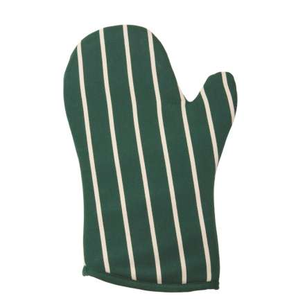 Rushbrookes Classic Butchers Stripe Gauntlet - Racing Green