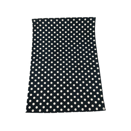 Polka Tea Towel - Indigo