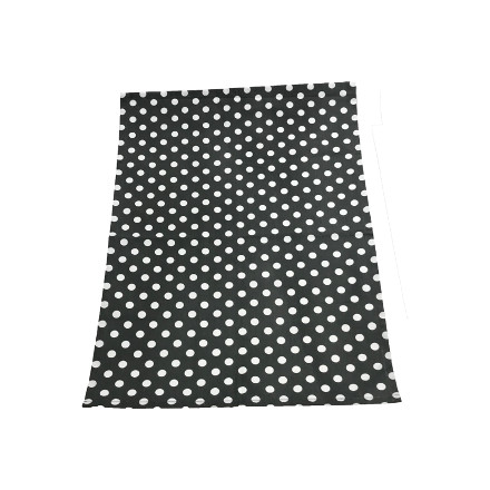 Polka Tea Towel - Slate Grey