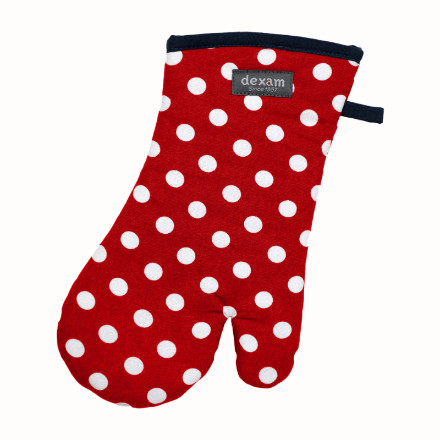 Polka Gauntlet Red