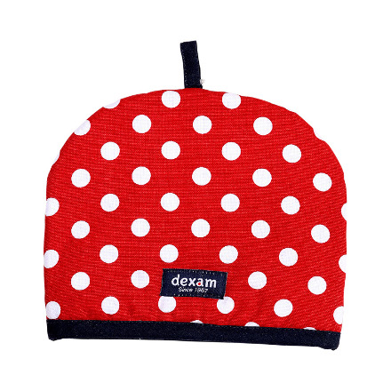 Polka Tea Cosy 2 Cup Red