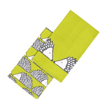 Scion Living Spike Set of 2 Tea Towels - Green