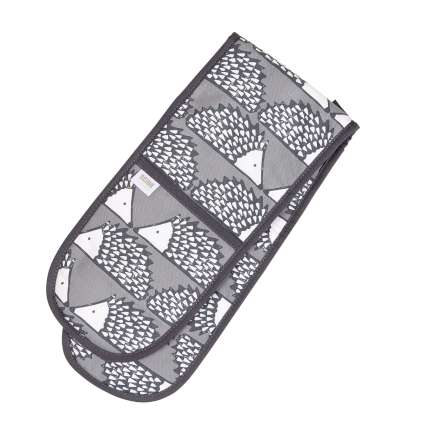 Scion Living Spike Double Oven Glove - Charcoal