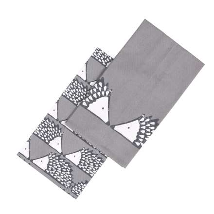 Scion Living Spike teatowels set/2 grey