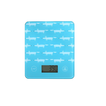 Scion Mr Fox Electronic Kitchen Scales - Teal