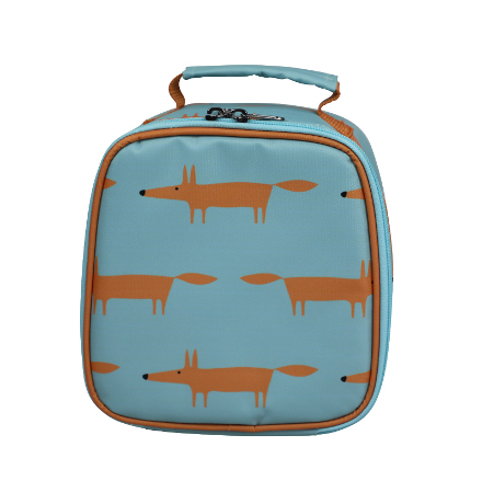 Scion Mr Fox Lunch Bag Blue
