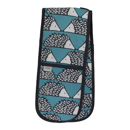 Scion Spike Double Oven Glove Teal