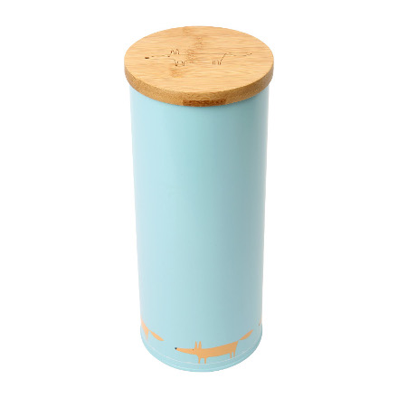 Scion Mr Fox Spaghetti Storage Jar blue (single fox print)