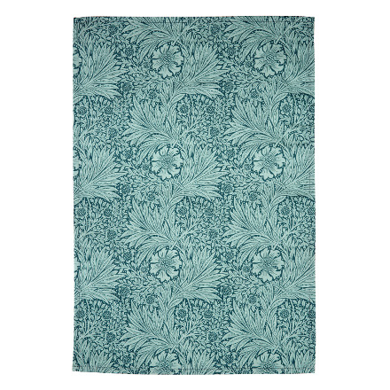 Morris & Co Strawberry Thief Set of 2 Tea Towels Teal