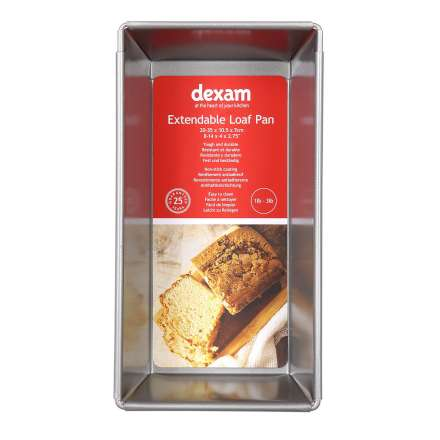 Dexam Non-Stick Expandable Loaf Pan