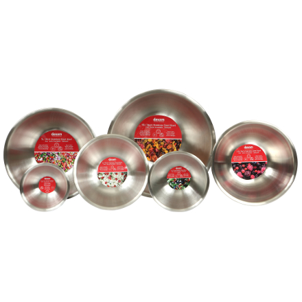 Dexam Stainless Steel Bowl - 0.5L