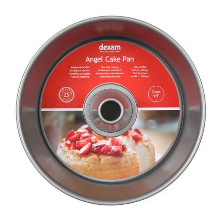 Dexam Non-Stick Angel Cake Pan