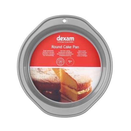 Dexam Non-Stick Round Cake Pan - 18cm