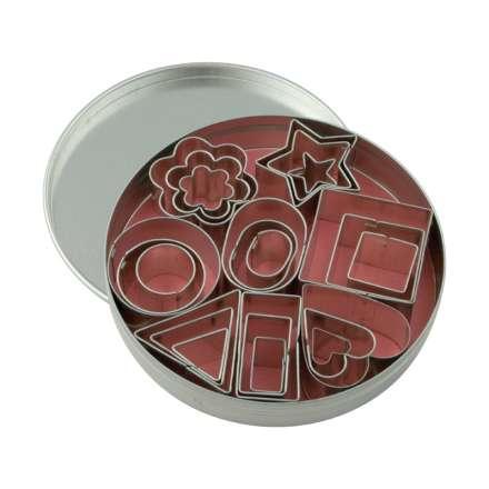 Dexam Mini Cookie Cutters - Set of 24