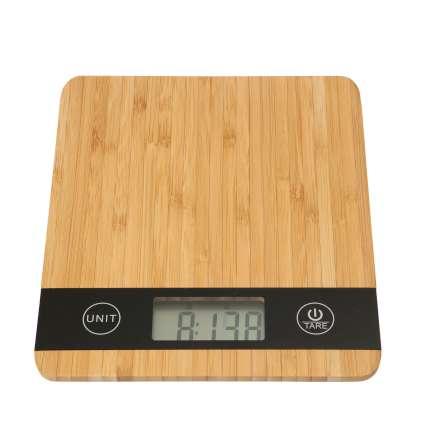 Dexam Digital Scales - Bamboo