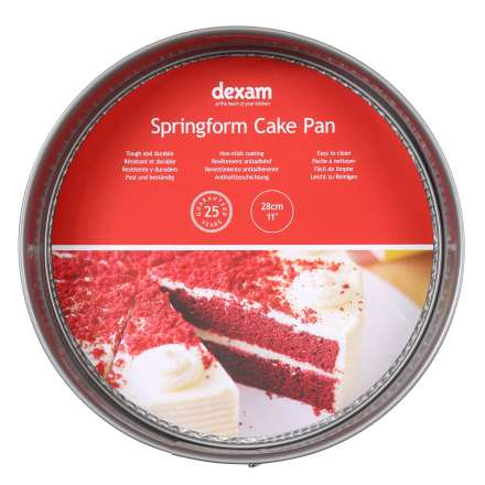Dexam Non-Stick Springform Round Cake Pan - 28cm