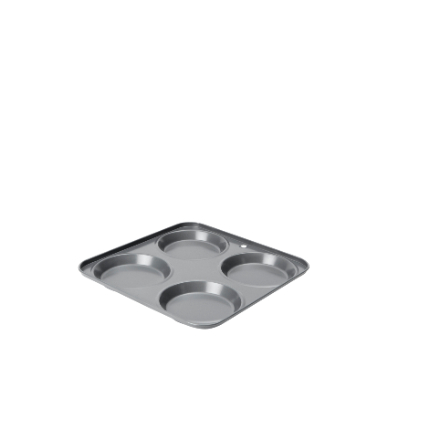 Dexam Non-Stick Flat Cap Yorkshire Pudding Pan