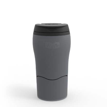 Mighty Mug Solo Travel Mug 320ml/11floz - Urban Grey