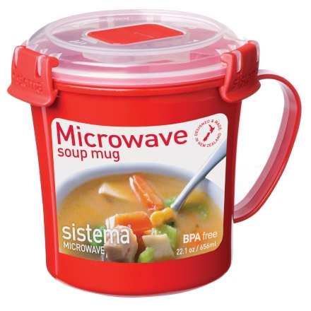 Sistema Microwave Soup Mug - 656ml