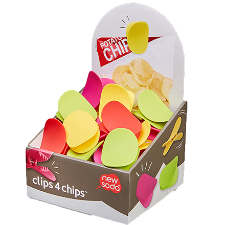 Clips 4 Chips CDU/36 Assorted Colours